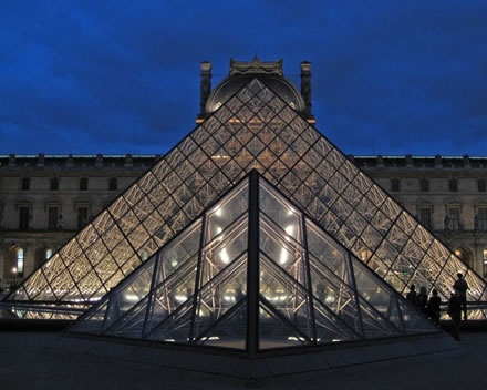 Louvre's Glass Pyramid