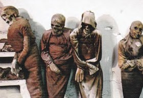 Mummies at the Catacombs and Cappuccin Crypt