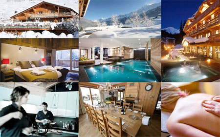 Luxury Ski Chalets in Courchevel, France