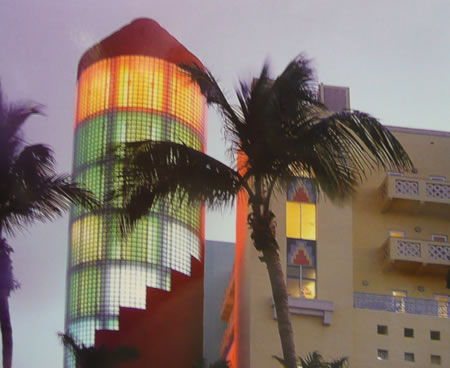 The Art Deco District of South Beach - Miami, Florida