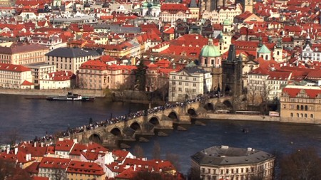 Prague – Europe Best Preserved Beautiful City with Good Luck Statue