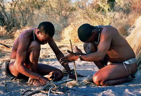 An authentic cultural exchange with the earth's original inhabitants – the Kalahari Bushmen of Southern Africa