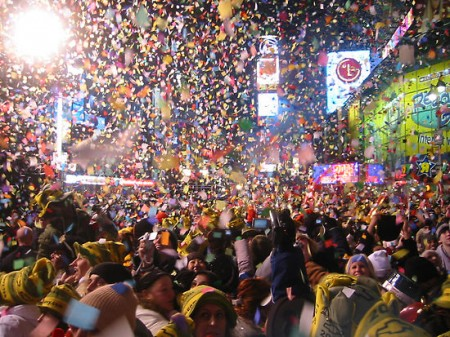 New Years Eve in Time Square