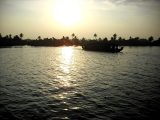Amazing Backwaters of Kerala, India