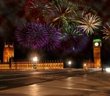 Witness the splendid New Year's Eve fireworks display in London