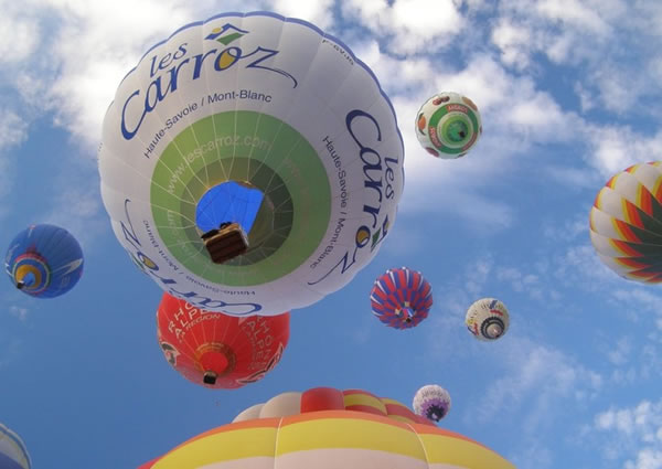 Icarus Cup hot-air balloons