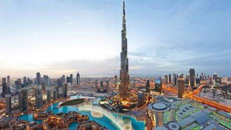 Dubai is a glamorous city