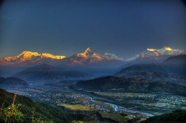 beautiful Nepal overview