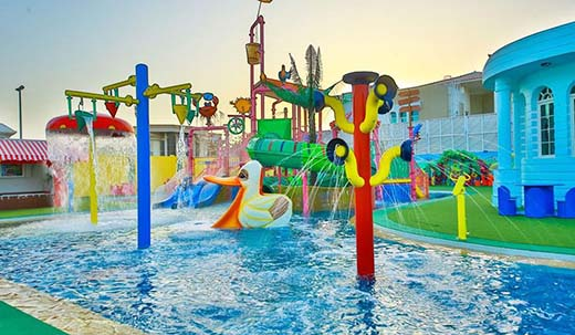 Aquaduck Recreational Playground