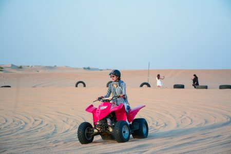 Quad biking - Dubai Desert Safari